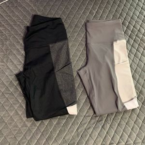 Active Life Two Pairs of Leggings